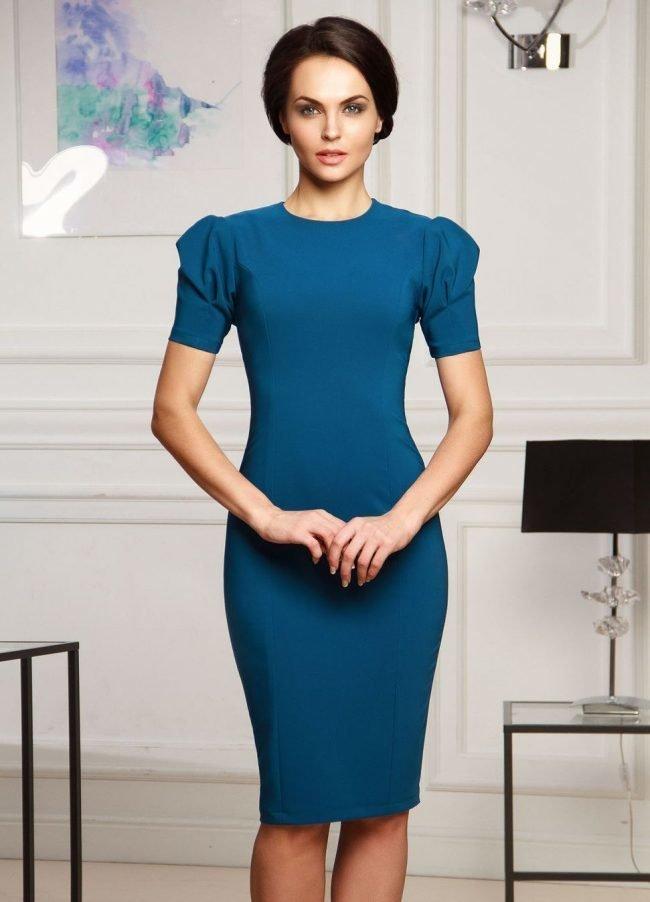 0dbca58f11e Элегантное платье-футляр (50 фото) — Стильные новинки 2019