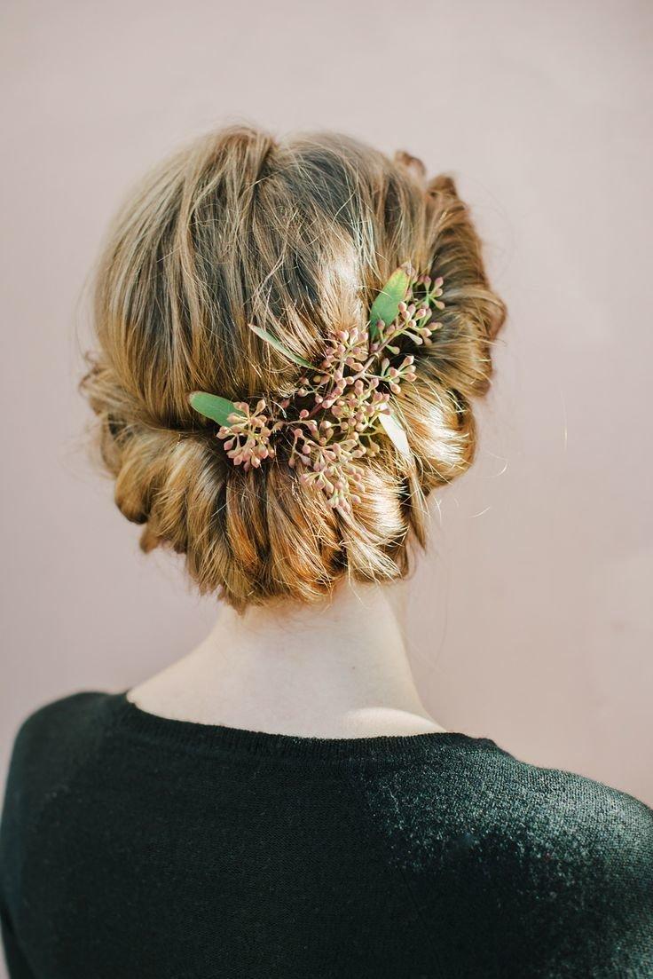 Венок на волосы на свадьбу