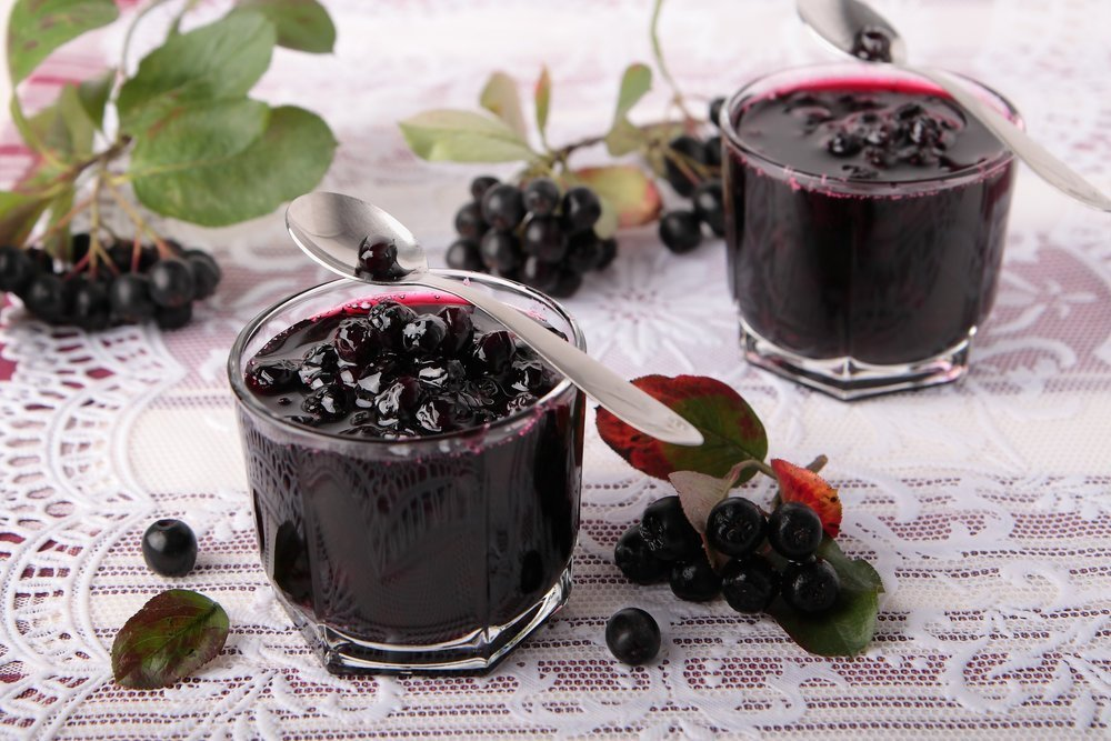 Варенье из черноплодной рябины в домашних условиях