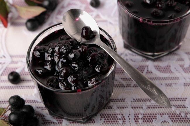 самые вкусные рецепты варенья из черноплодки