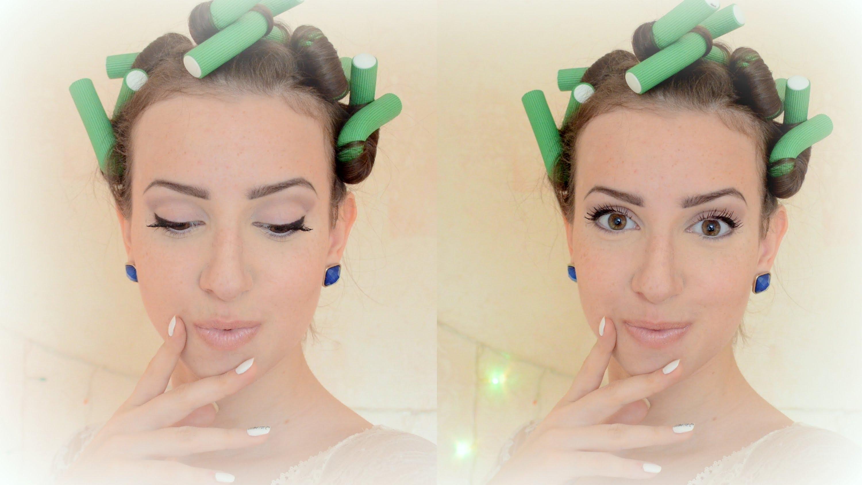 Как накрутить волосы на бигуди-папильотки