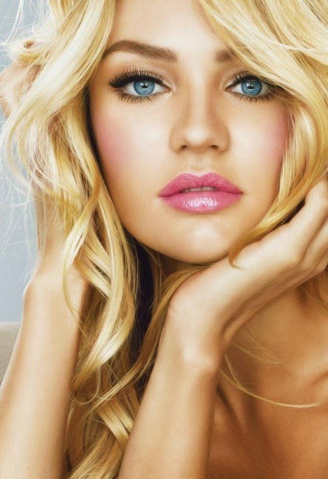 Makeup for blonde hair blue eyes