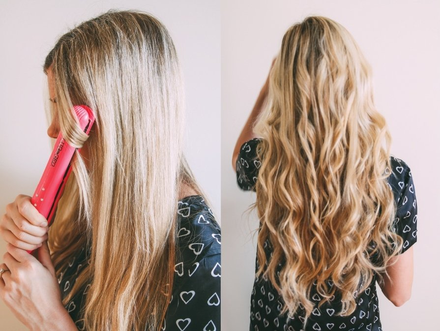 Как сделать кудри с выпрямителем для волос