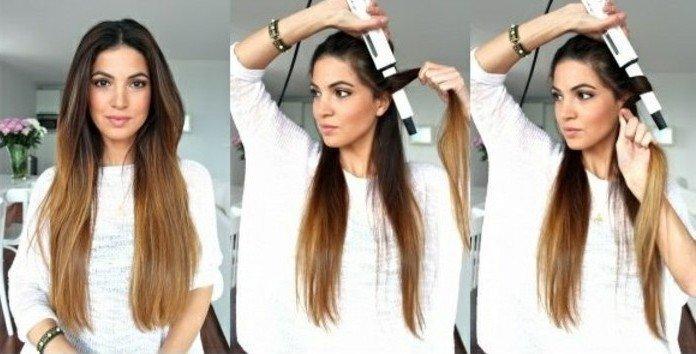 Как сделать объем у корней на длинных волосах