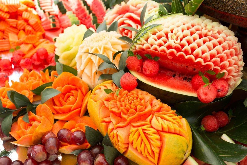 картинки карвинга из овощей и фруктов арматура муфтовая представляет
