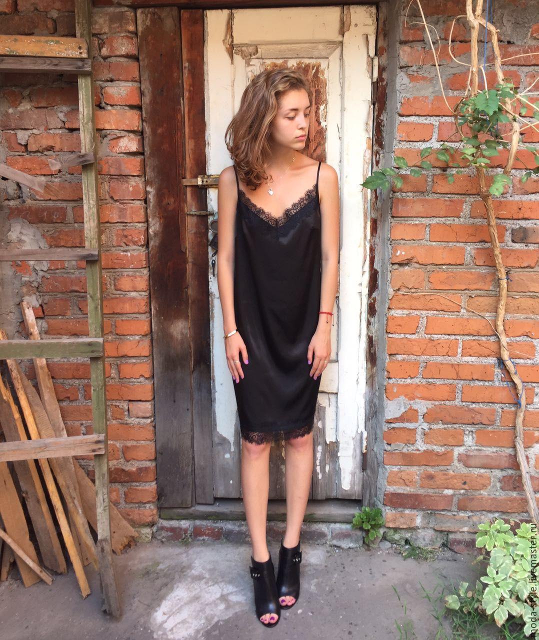 Купить платье в стиле сорочки