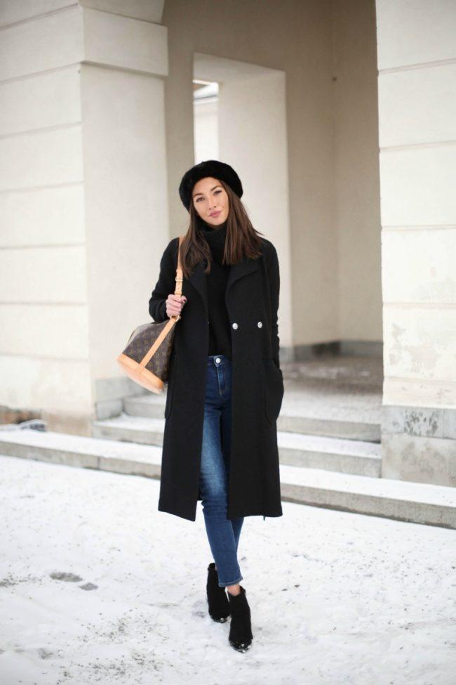 Модные луки зима 2017 — Лучшие идеи женских образов (50 фото)