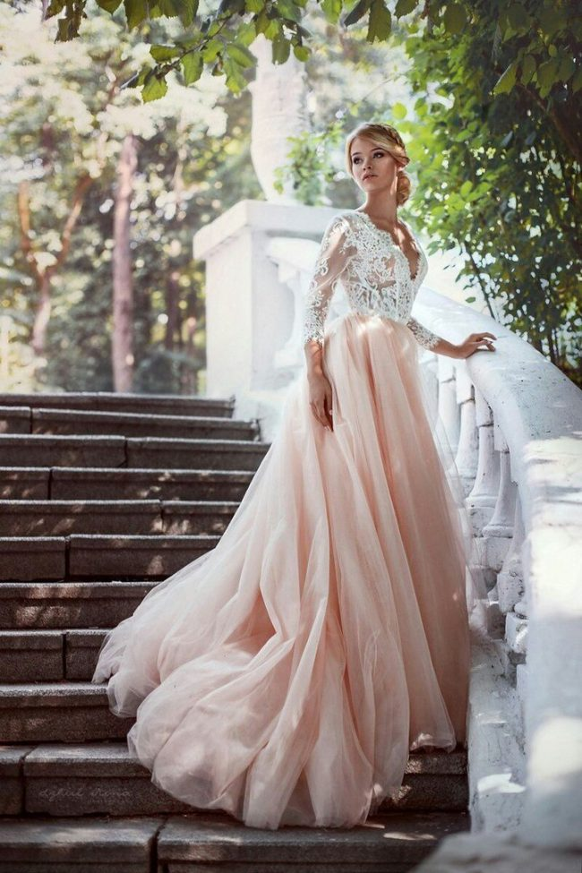 1ba5098edfb Красивые свадебные платья (50 фото) — Модные тенденции 2017