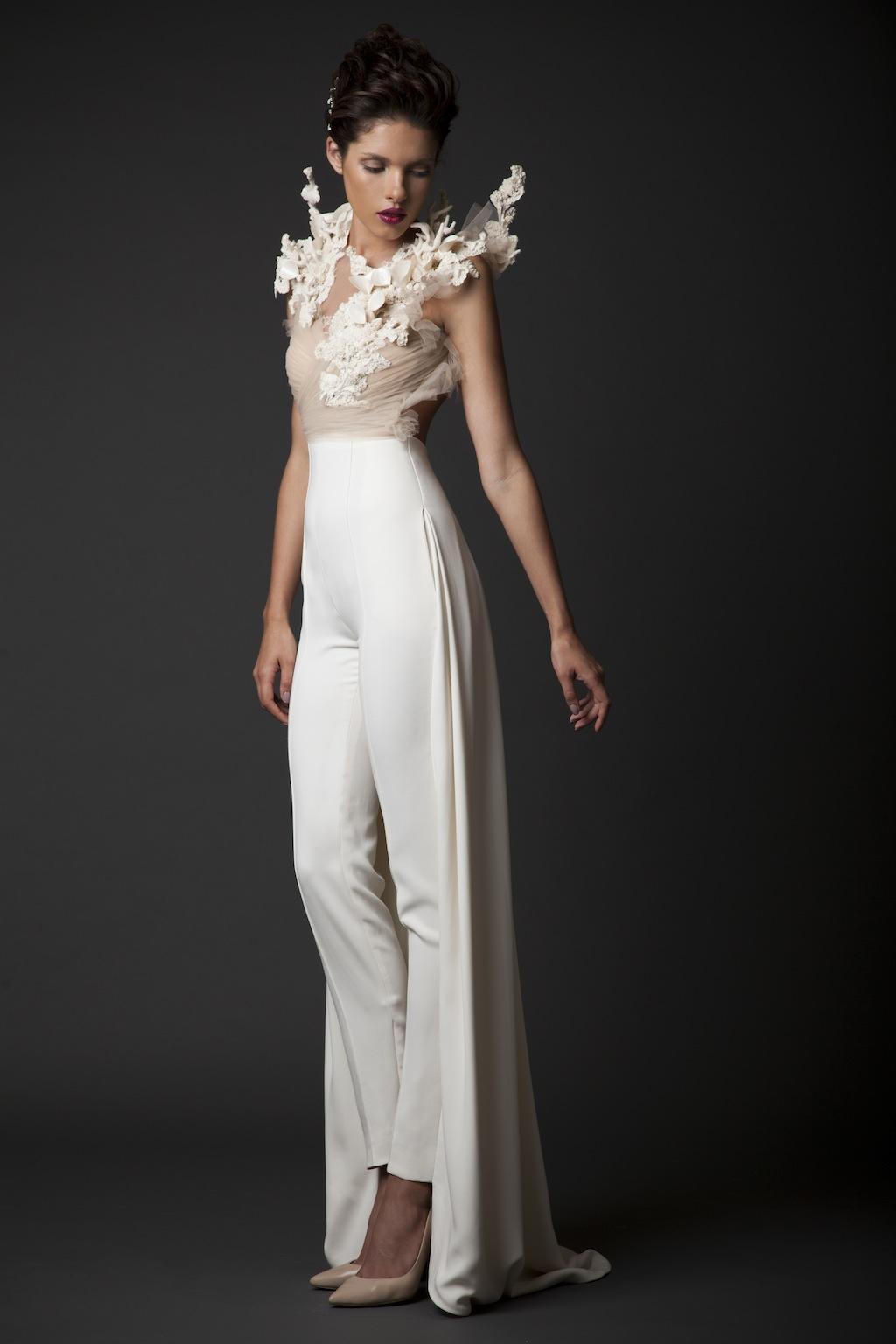 требовательно свадебный брючный костюм для невесты фото варианты сеток пластикового