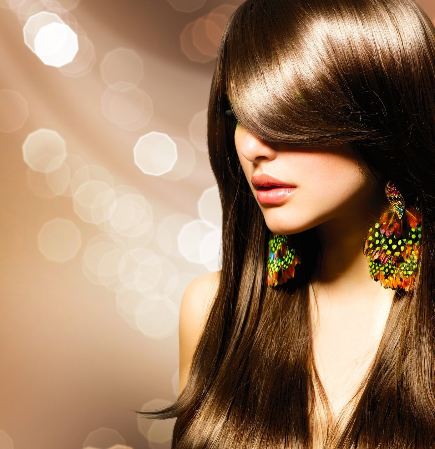 Which hair color is suitable for brown eyes