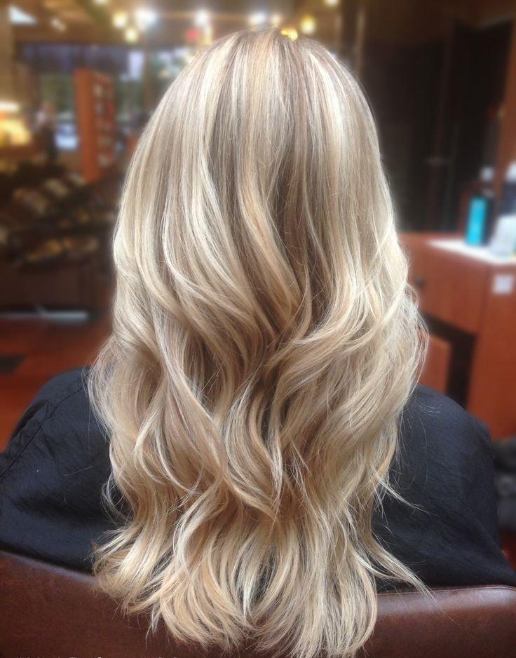 Техника балаяж на светло русые волосы