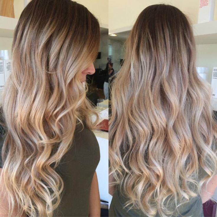 Красиво окрашенные волосы фото