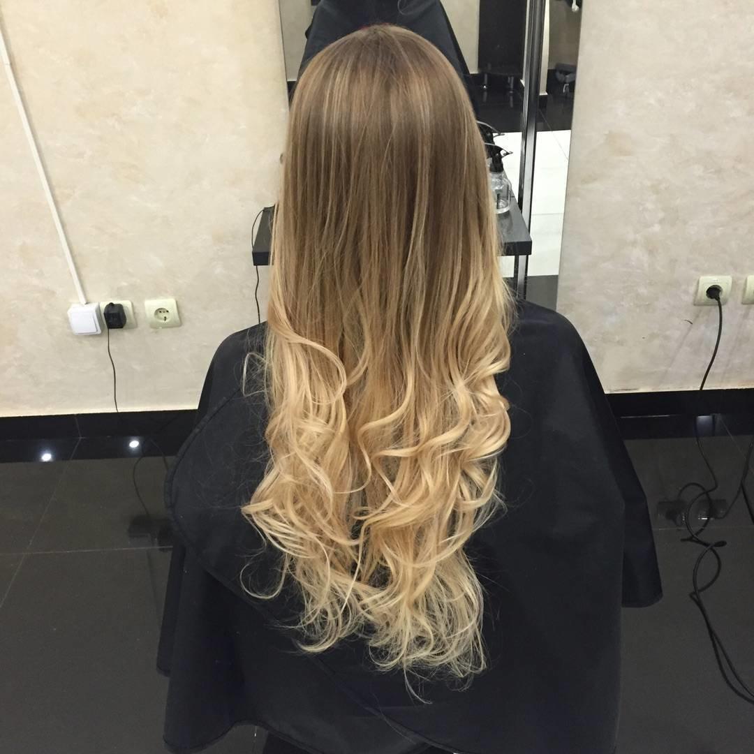 ombre-shatush-balajazh-foto_ombre-3 Шатуш на короткие волосы: окрашивание шатуш на каре с удлинением, боб каре, каре с челкой, техника окрашивания, фото и видео