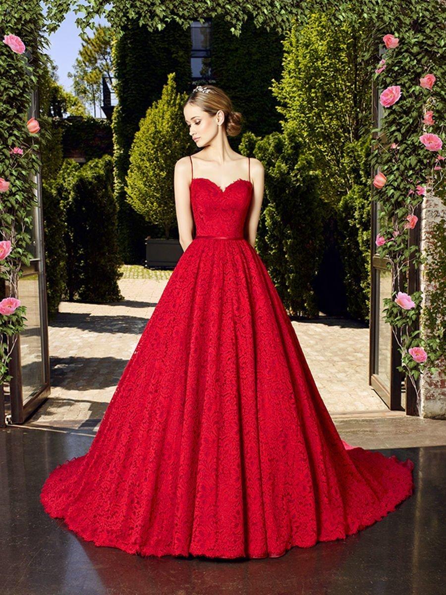 baca26ee926 Яркие Платья Красного цвета  50 фото  — Лучшие модели 2018