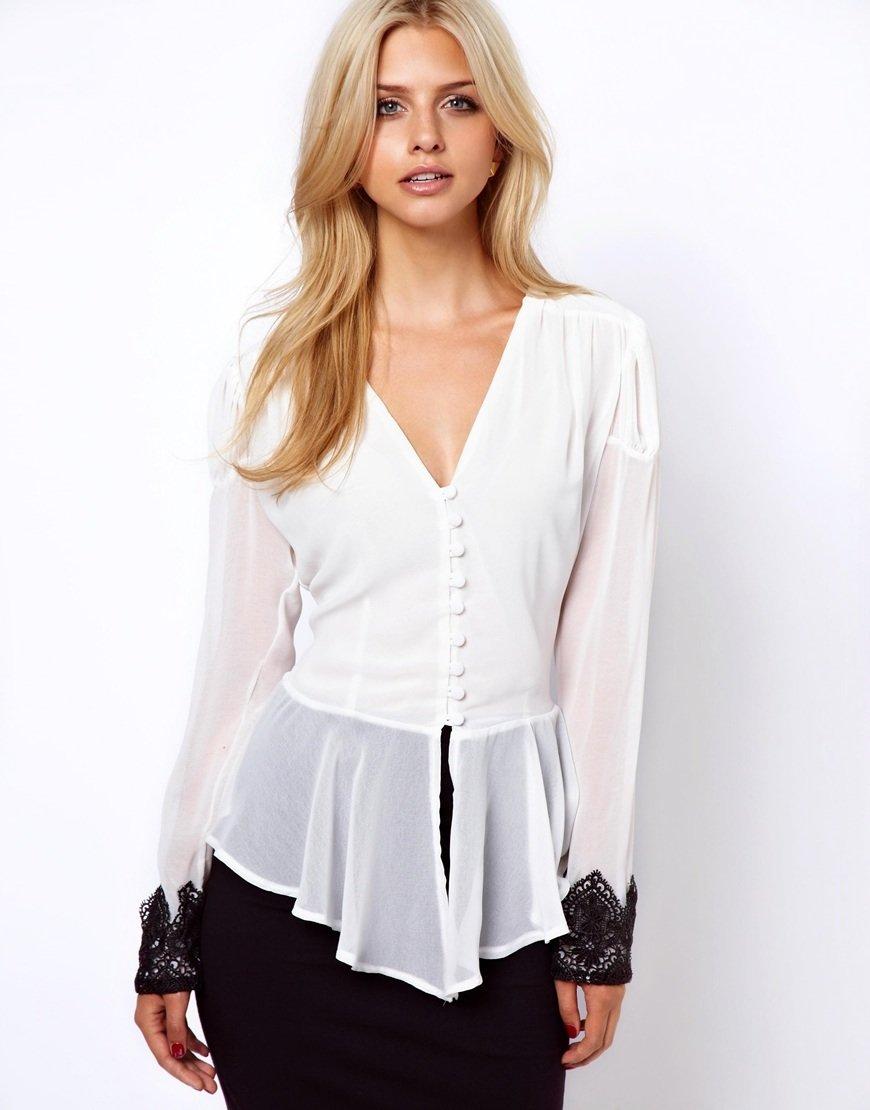 Блузка Баска Купить
