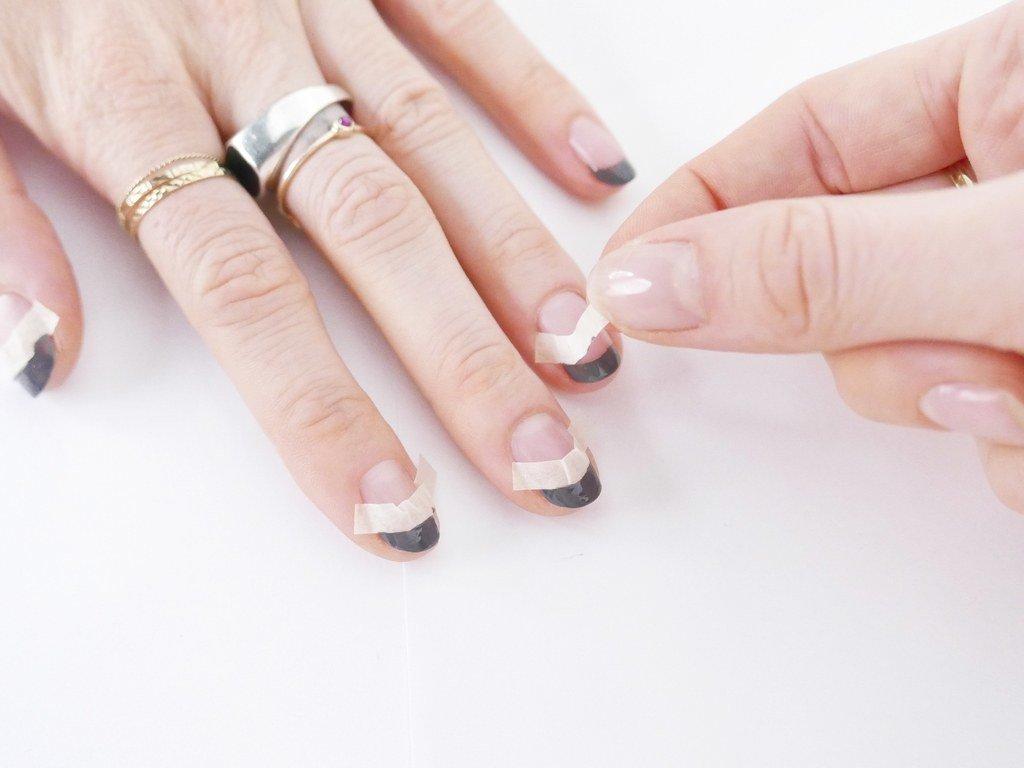 Фото ногтей двойной маникюр