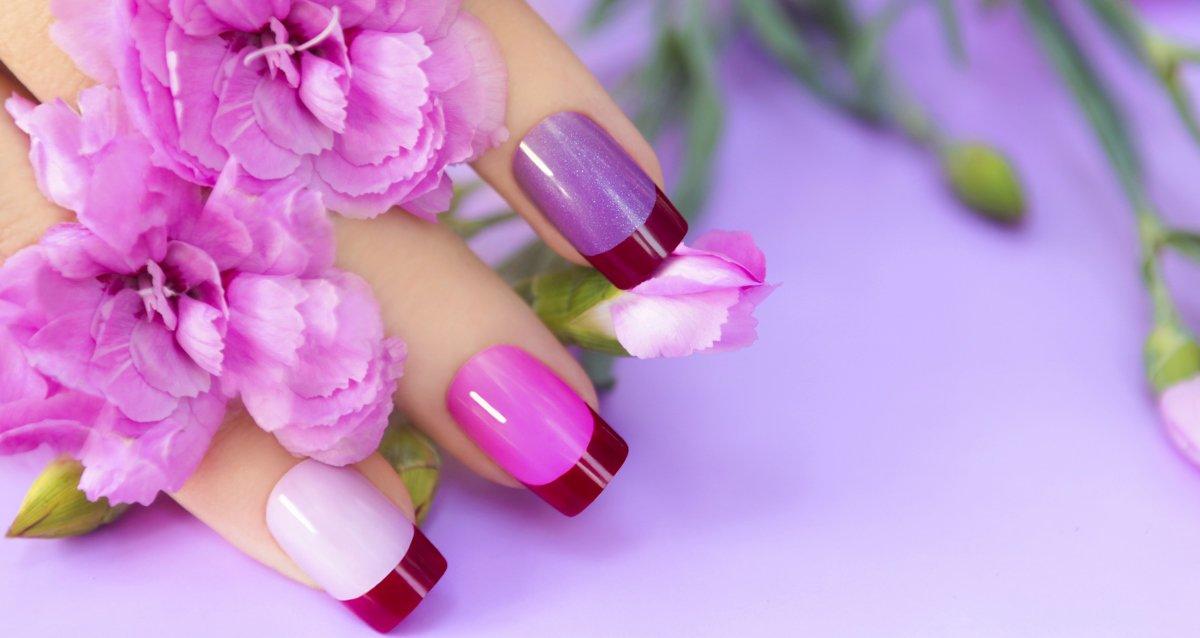 gg Фиолетовый маникюр 2019-2020, фиолетовый дизайн ногтей, маникюр фиолетового цвета