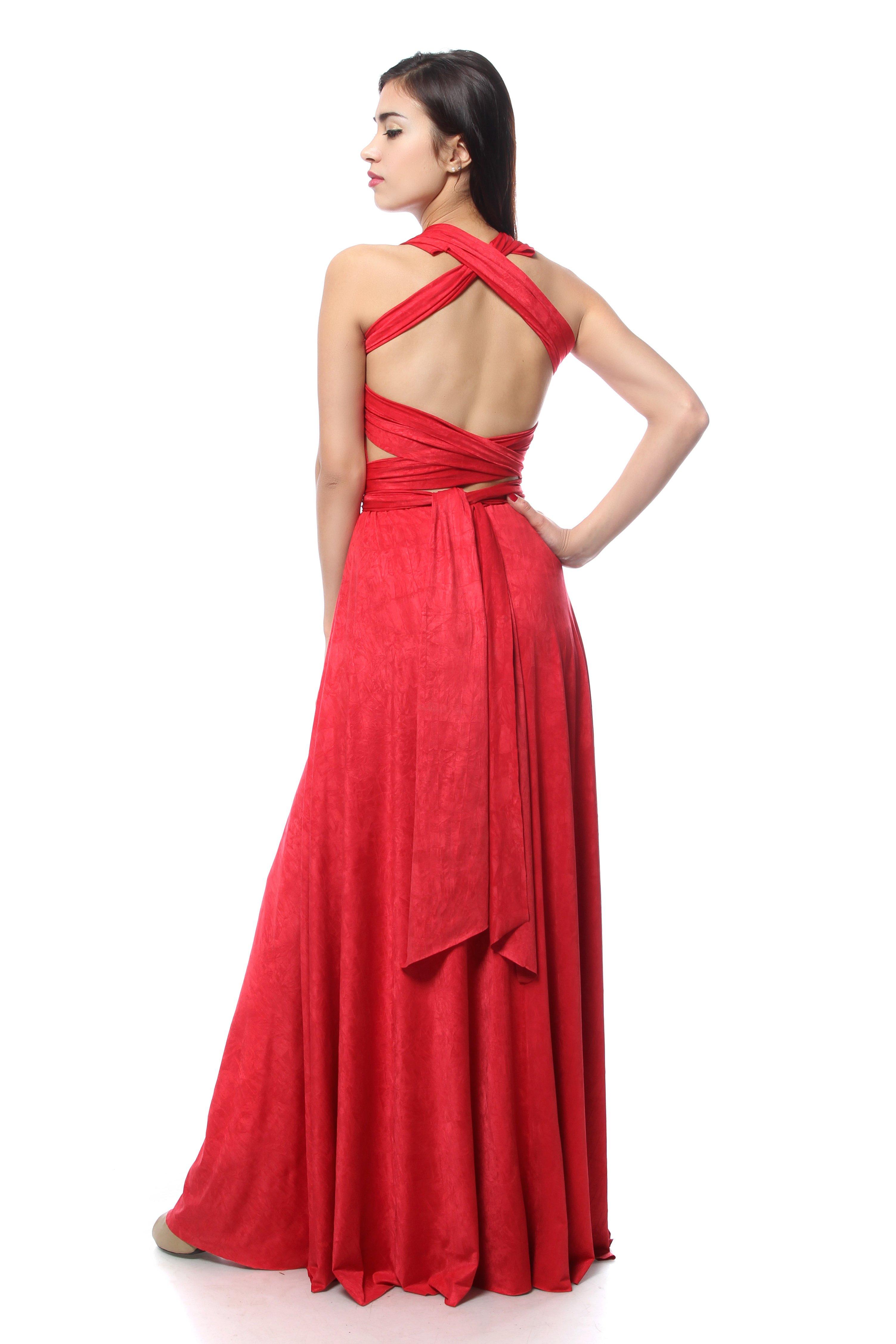 kak-nosit-plate-transformer-foto_29 Платье трансформер: варианты вечерних платьев. Как сшить платье со съемной юбкой своими руками?