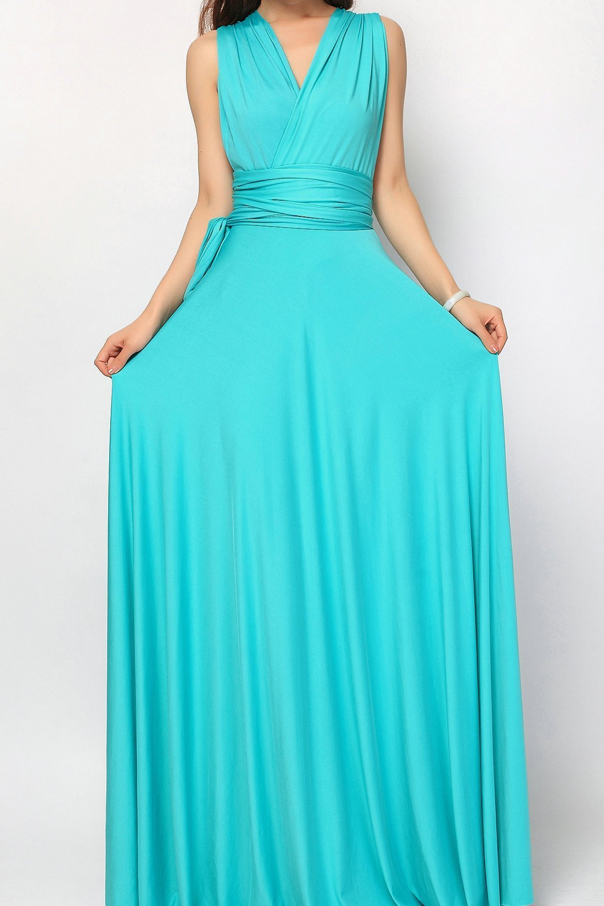 kak-nosit-plate-transformer-foto_44 Платье трансформер: варианты вечерних платьев. Как сшить платье со съемной юбкой своими руками?