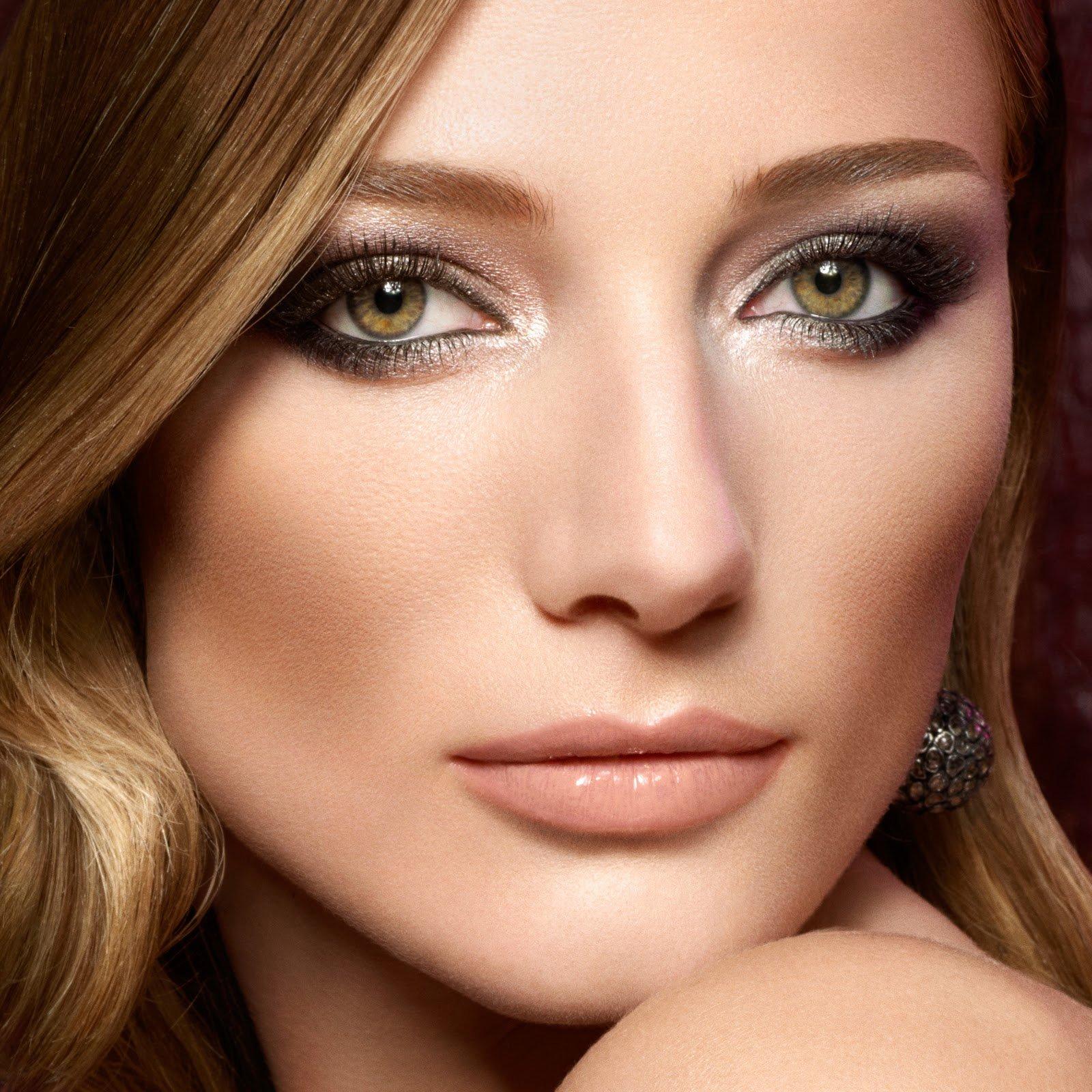 Фото макияжа для русых с зелеными глазами