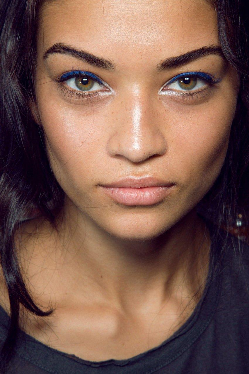 Макияж под цвет глаз и волос