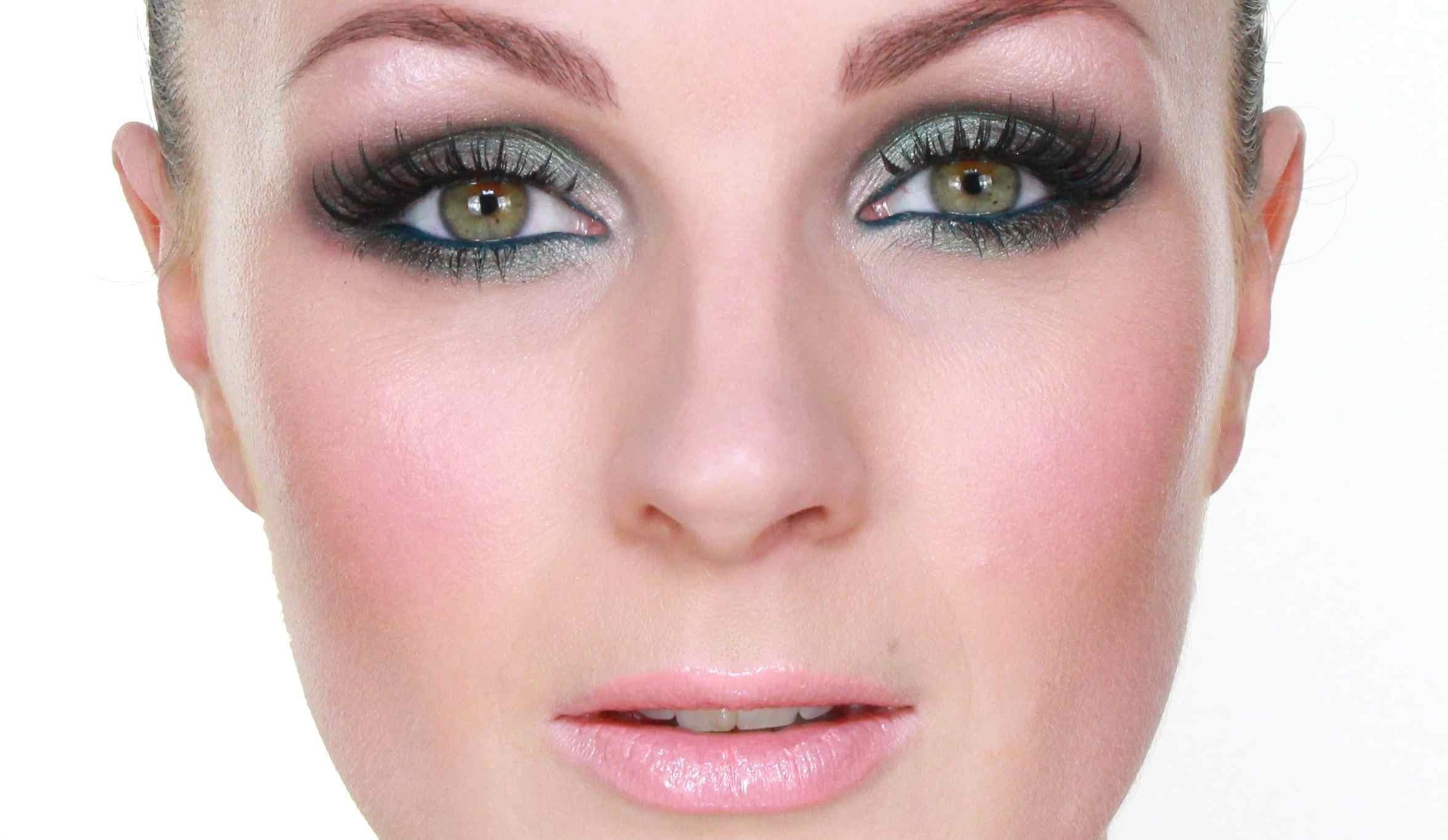Makeup for green eyes tutorial