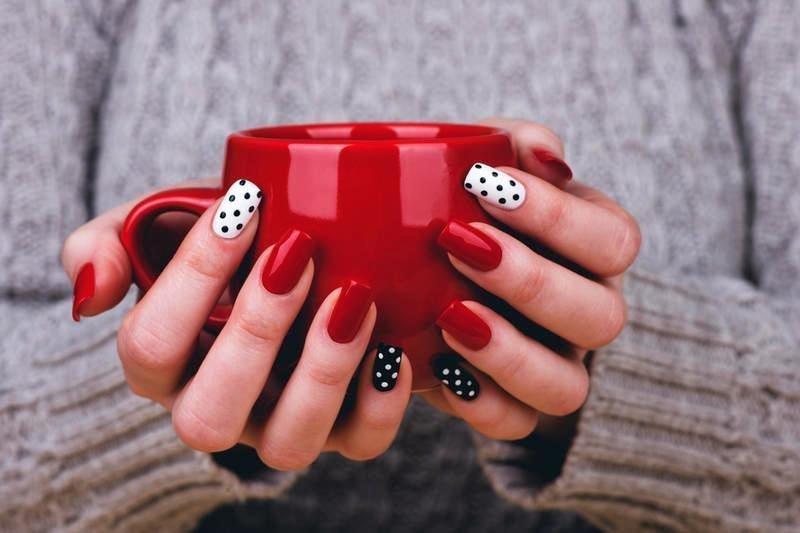 Красивые дизайны ногтей с