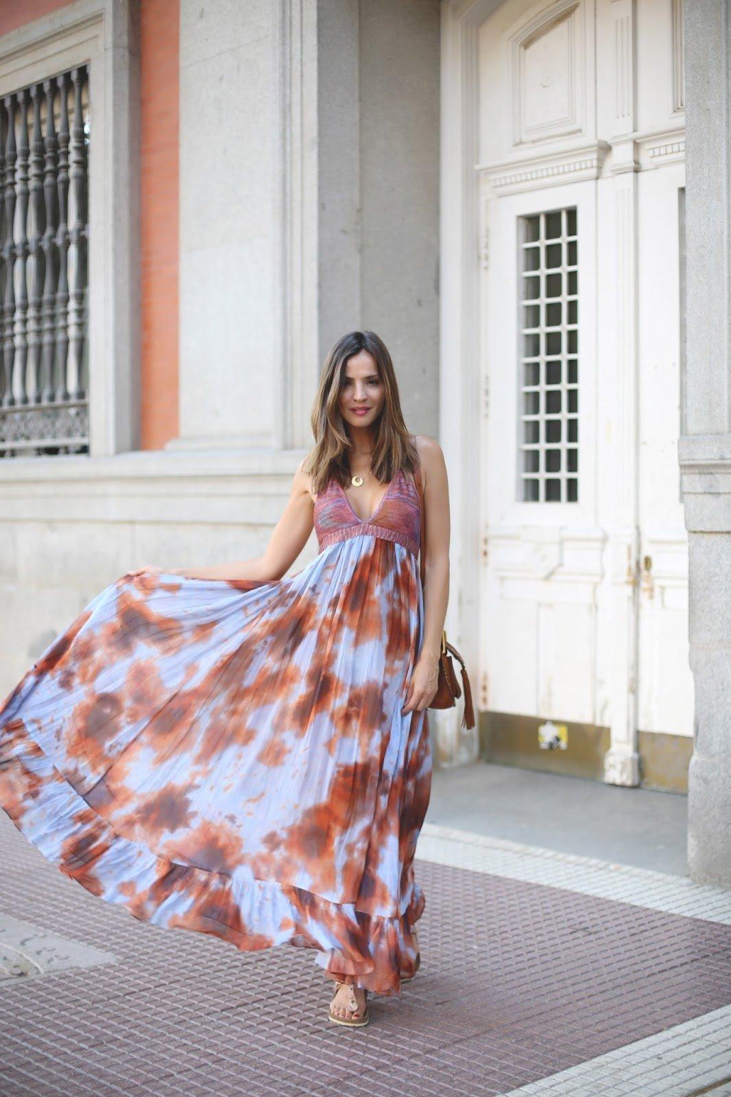 e1c23367552 Красивые летние длинные платья (50 фото) — Новинки 2019!