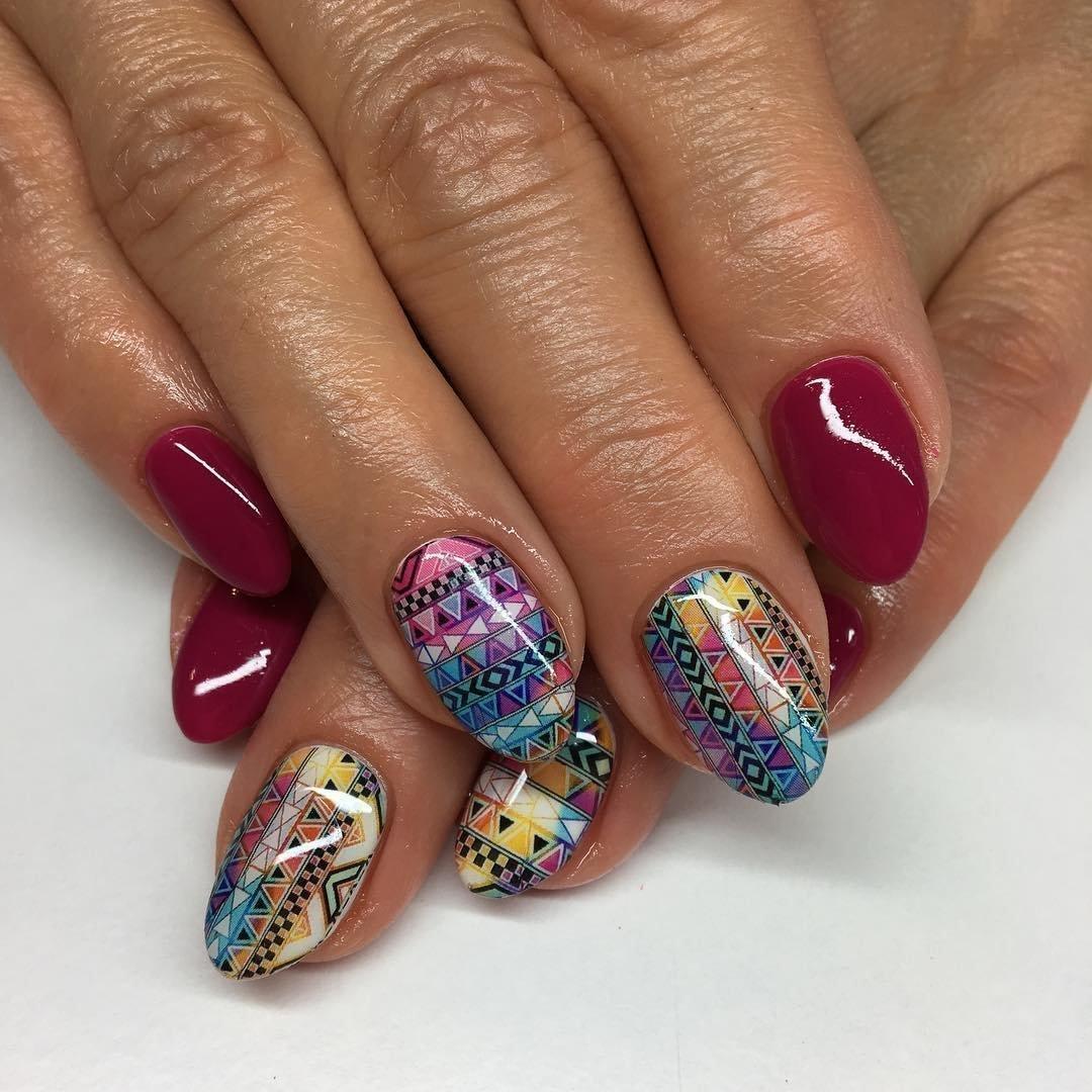 Трендовый дизайн ногтей фото