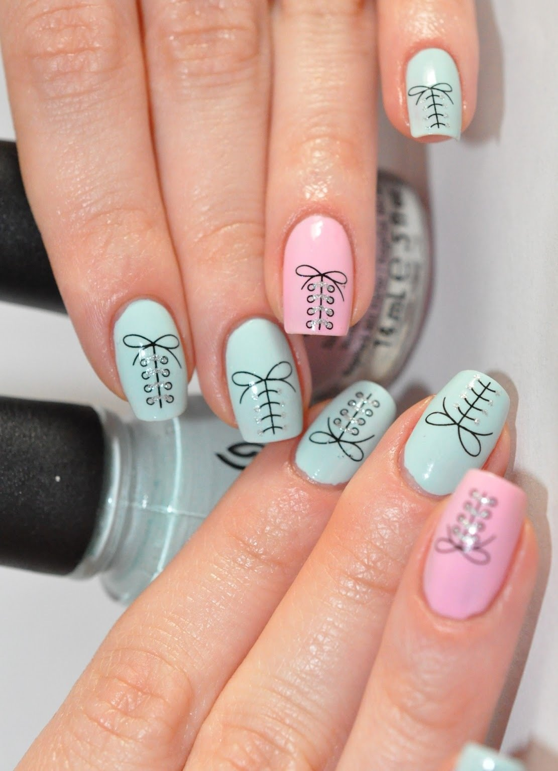 Дизайн ногтей осень 2015. Фото 32