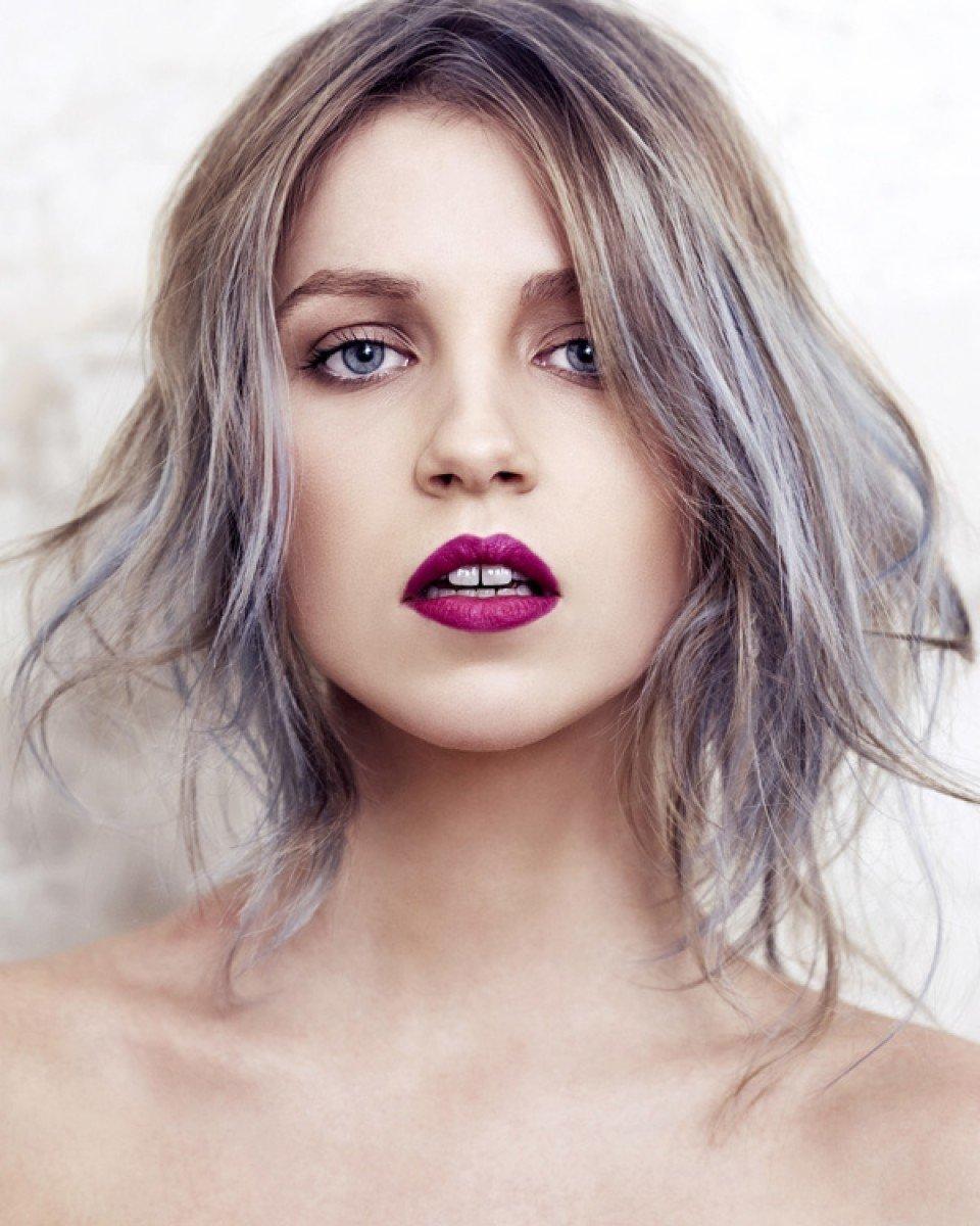 Темно русый цвет волос с пепельным оттенком краска для волос
