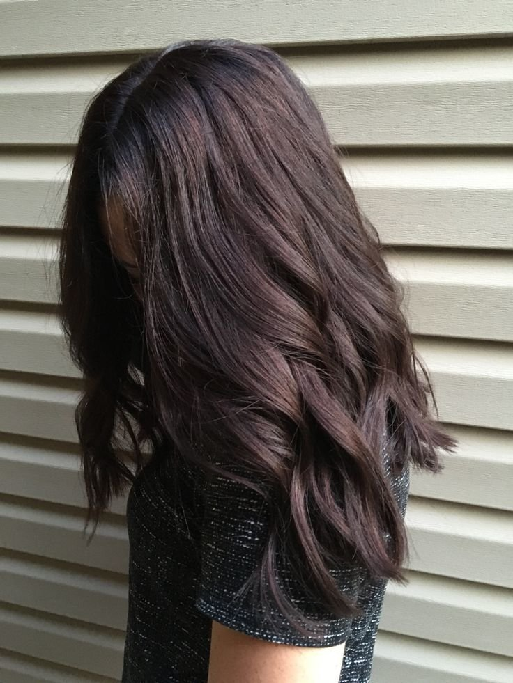 темно русый волос фото