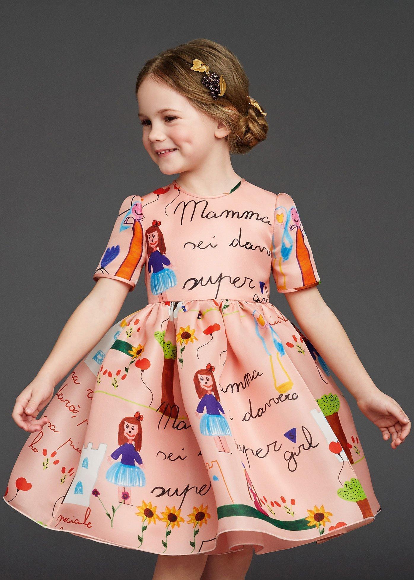 Детское платье 2017-2018