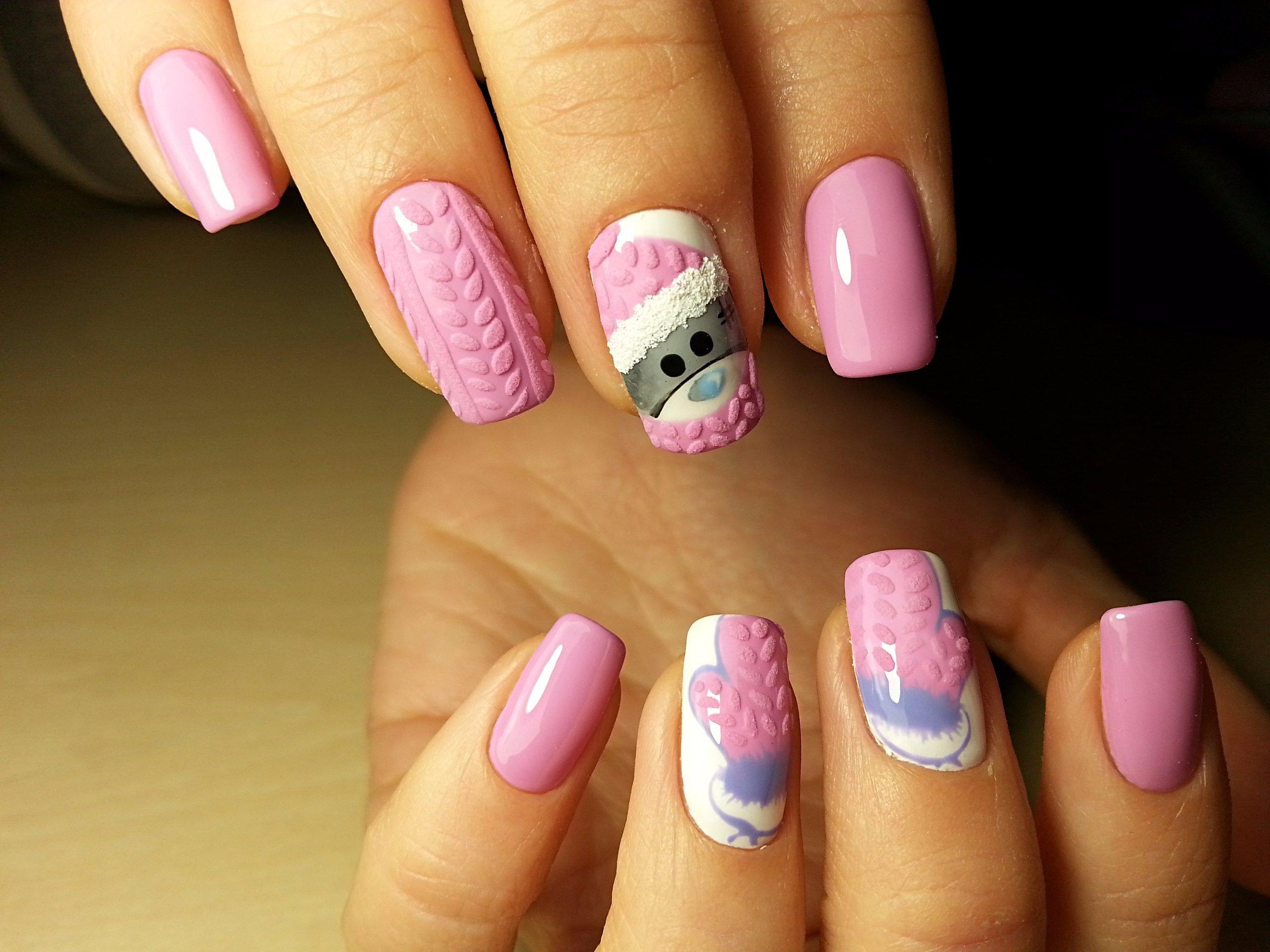 vyazanyj-manikyur-foto_15 Самый красивый дизайн ногтей: 100 ЛУЧШИХ идей и трендов на фото
