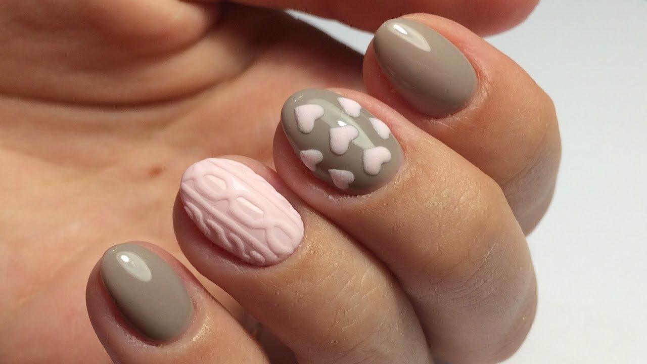 vyazanyj-manikyur-foto_37 Самый красивый дизайн ногтей: 100 ЛУЧШИХ идей и трендов на фото
