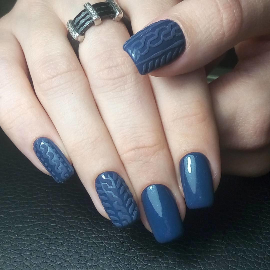 vyazanyj-manikyur-foto_38 Самый красивый дизайн ногтей: 100 ЛУЧШИХ идей и трендов на фото
