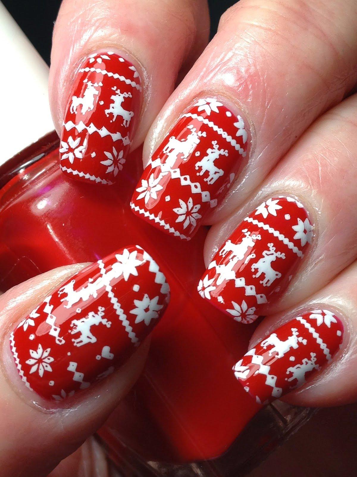 vyazanyj-manikyur-foto_46 Самый красивый дизайн ногтей: 100 ЛУЧШИХ идей и трендов на фото