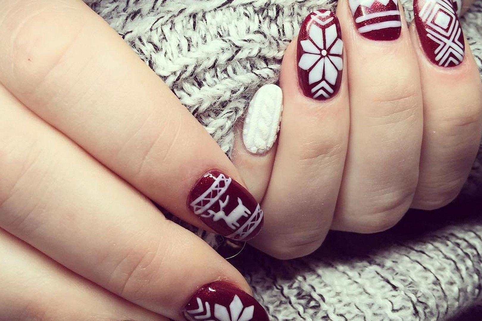 vyazanyj-manikyur-foto_50 Самый красивый дизайн ногтей: 100 ЛУЧШИХ идей и трендов на фото