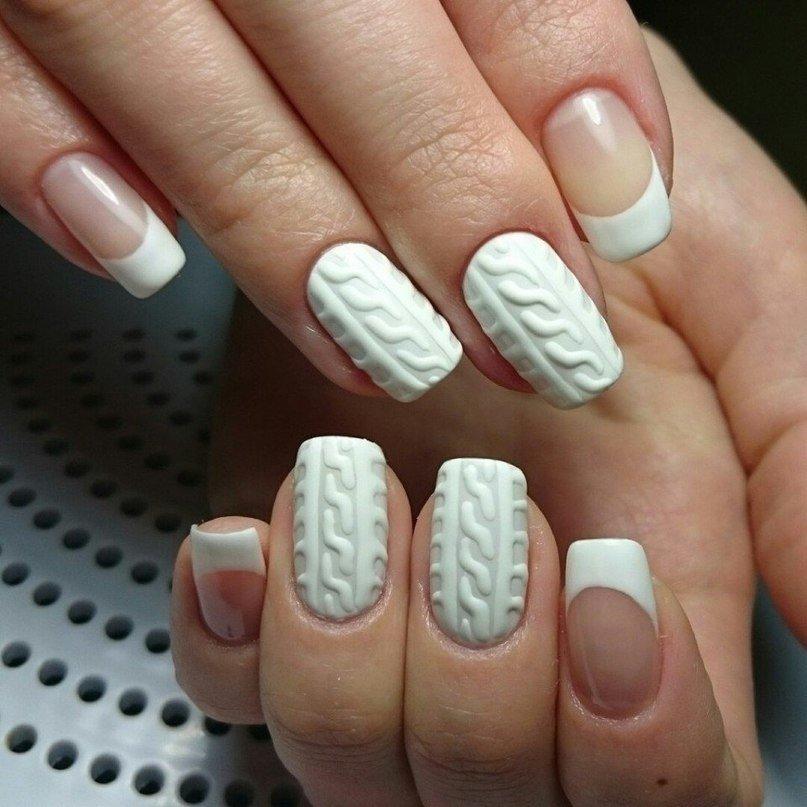 vyazanyj-manikyur-foto_53 Самый красивый дизайн ногтей: 100 ЛУЧШИХ идей и трендов на фото