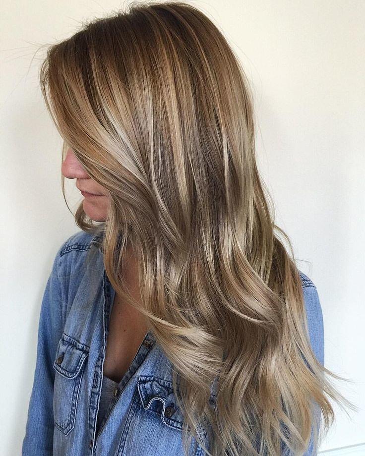 Холодные оттенки волос светлые