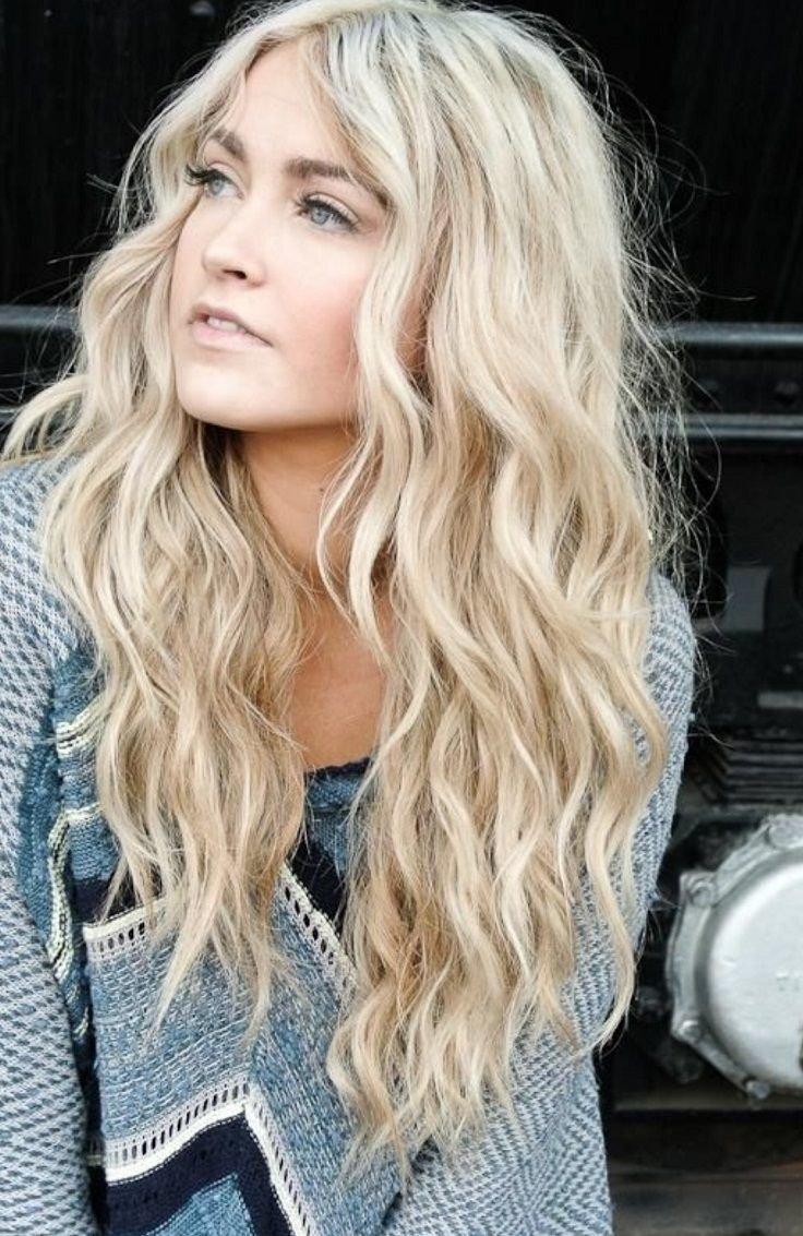 Холодный цвет волос светлый