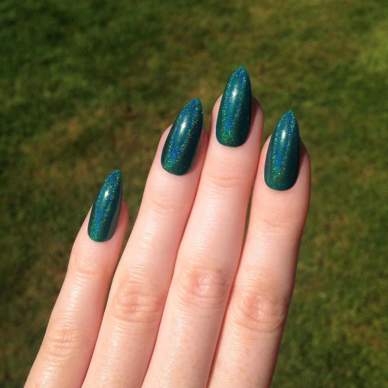 фото ногти дизайн зеленые