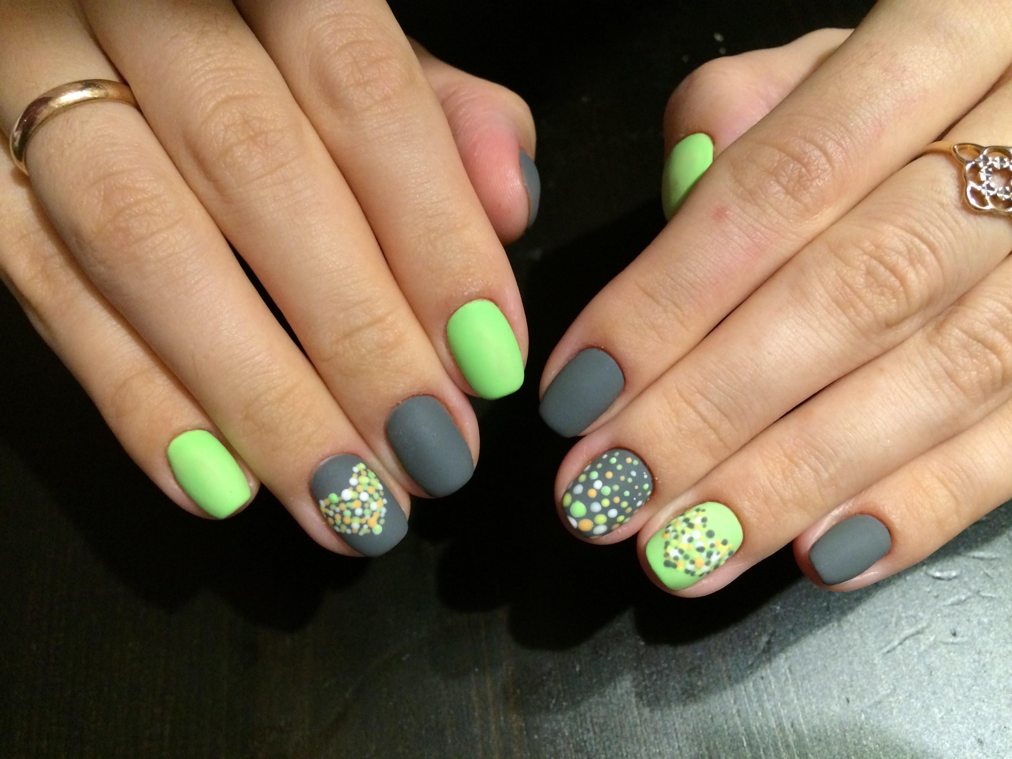 Нежный маникюр на ногти дизайн 2017-2018