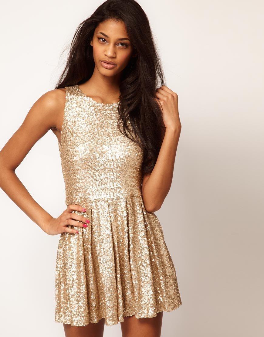 Роскошное Золотое платье (50 фото) — Идеи образа 2017! 5969f1c923935