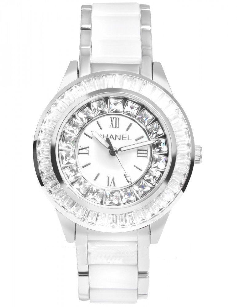 Часы с керамическим браслетом женские