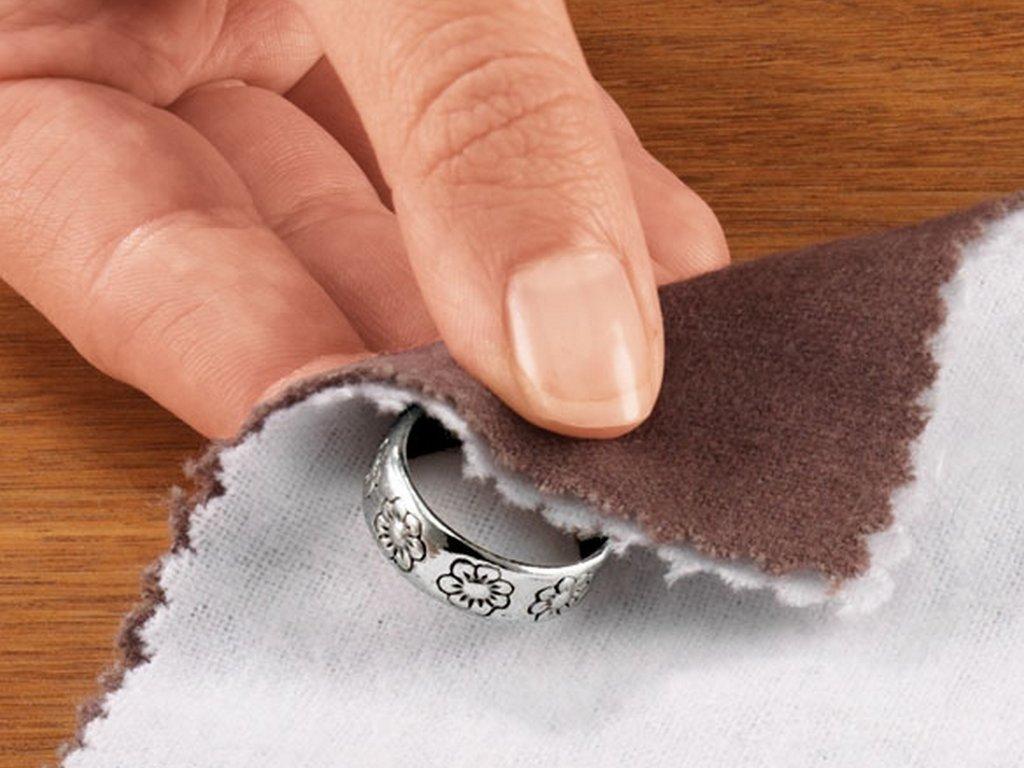 Как чистить серебро в домашних условиях цепочки