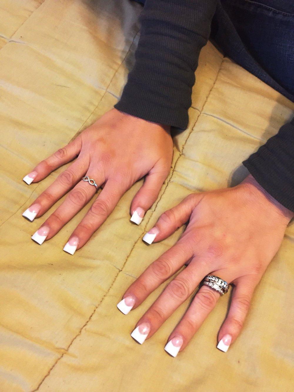 Маникюр на короткие широкие ногти фото