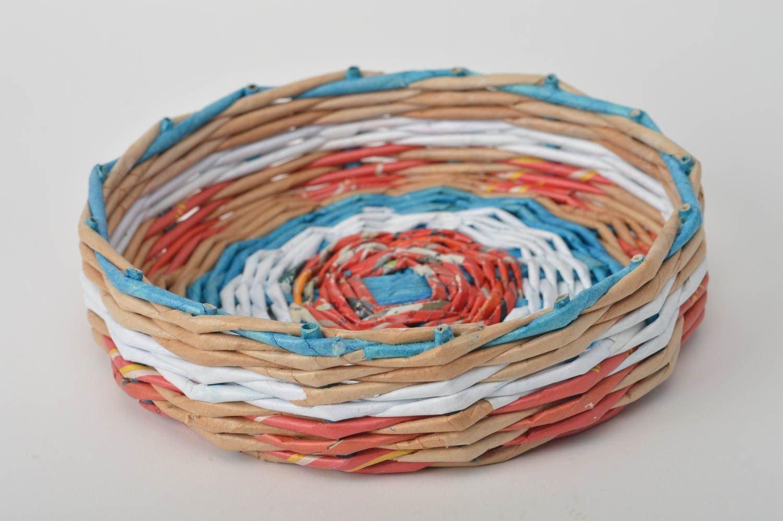 Способы плетения из газетных трубочек