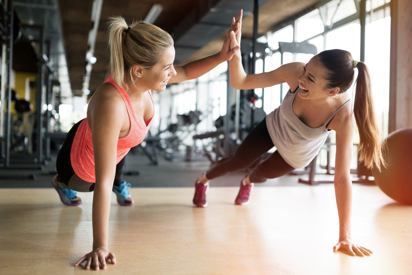 фитнес какие упражнения картинки