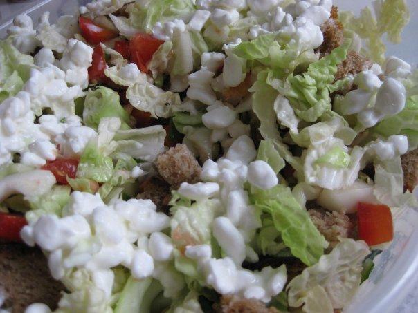 Витаминный овощной салат